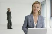 Женщина начальник